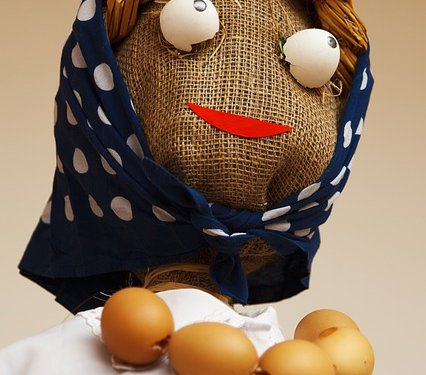 Craft Scarecrow Lady - Image: Public Domain, Pixabay