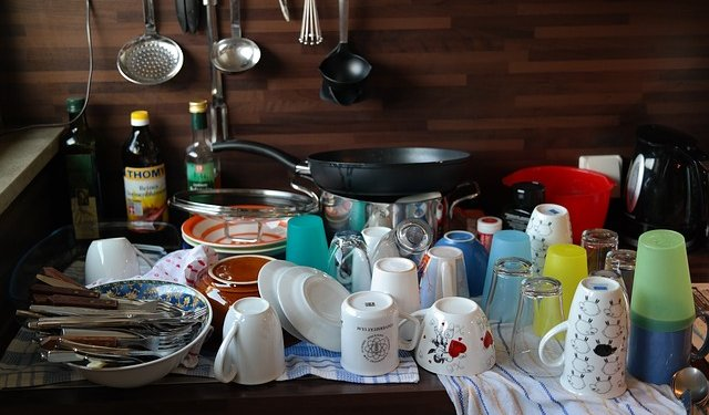 Dishes Silverware Cookware - Image: Public Domain, Pixabay