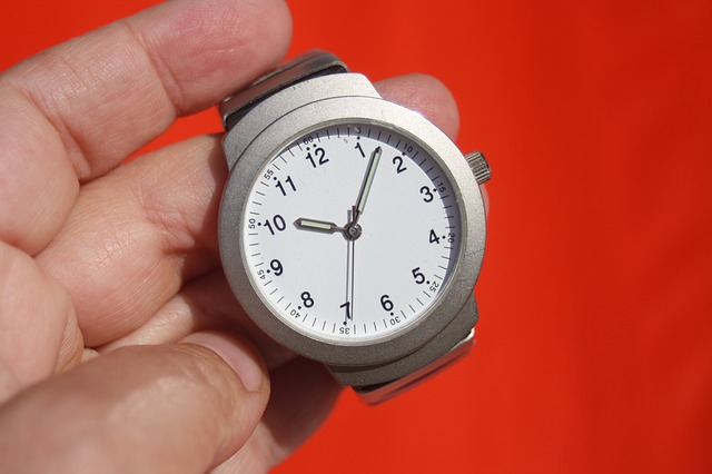 Watch Time Hand - Image: Public Domain, Pixabay