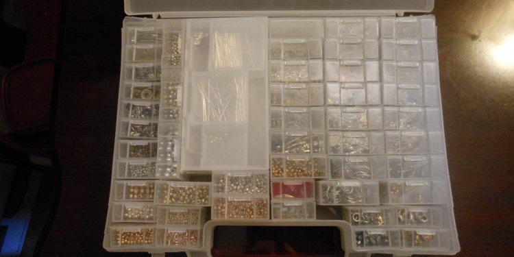 Craft Supplies Box 1 - Image: © Briana Blair
