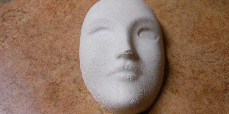Plaster Mask 1 - Image: © Briana Blair