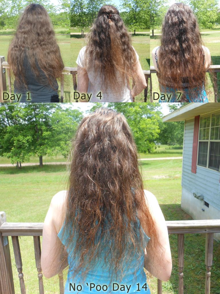 No Poo Hair Day 14 - Image: © Briana Blair