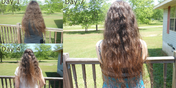 No Poo Hair Day 7 - Image: © Briana Blair
