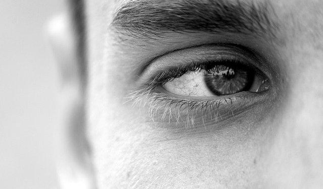 Man Eye Monochrome - Image: Public Domain, Pixabay