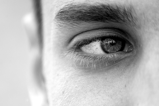 Man Eye Monochrome - Image: Public Domain, Pixabay