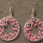 Pink Wire Earrings - Image: © Briana Blair