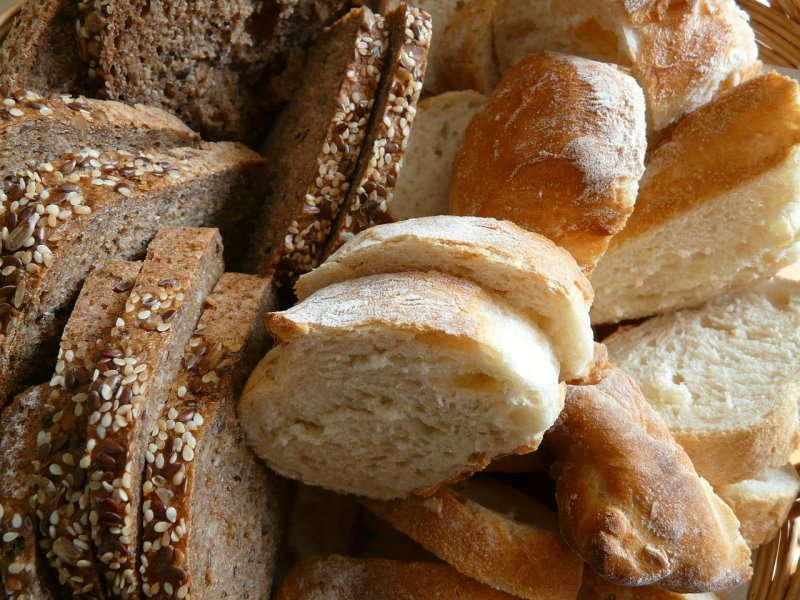 Bread Food - Image: Public Domain, Pixabay