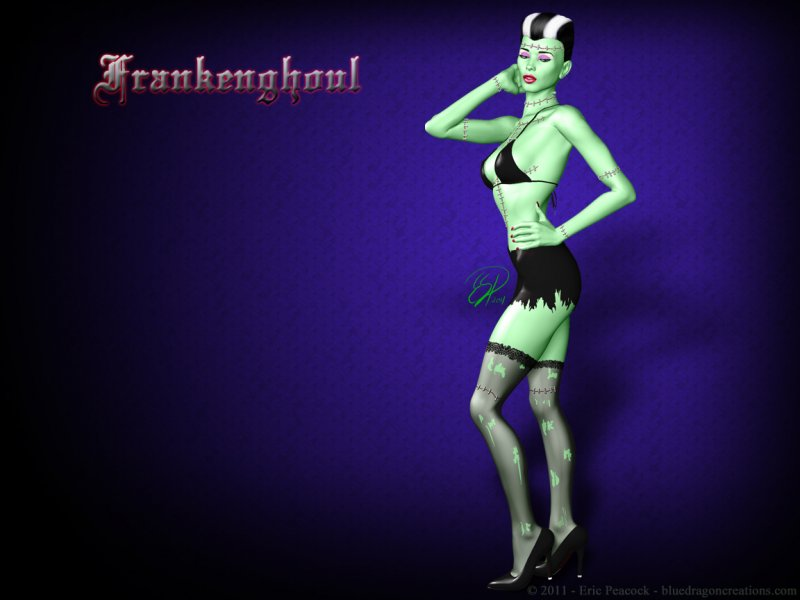 frankenghoul wallpaper
