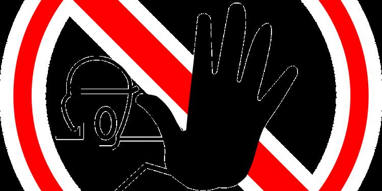 Hand No stop - Image: Public Domain, Pixabay