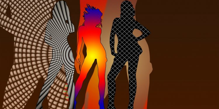 Silhouette Woman Patterns - Image: Public Domain, Pixabay