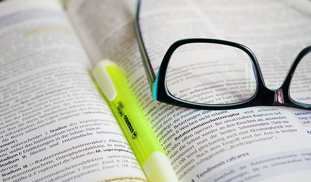 Book Pen Marker Glasses Reading Writing - Image: Public Domain, Pixabay