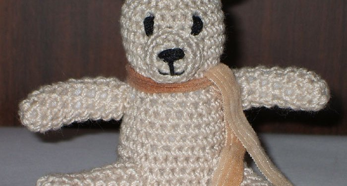 Crochet Teddy Bear Toy - © Briana Blair