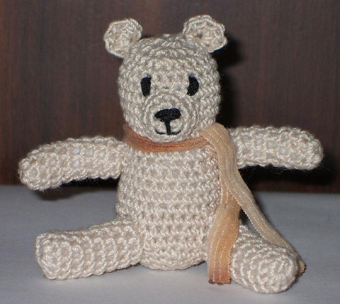 Crochet Teddy Bear Toy - © Briana Blair
