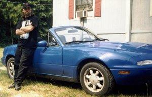 Eric miata car convertible