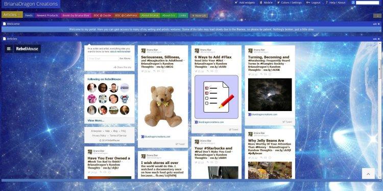 Protopage Screenshot