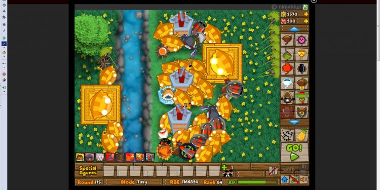 Screenshot Bloons Tower Defense 5 Game