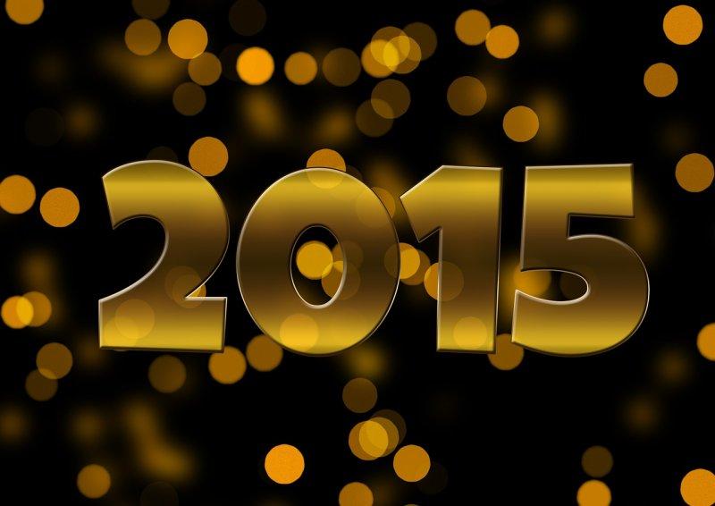 2015 New Year - Image: Public Domain, Pixabay