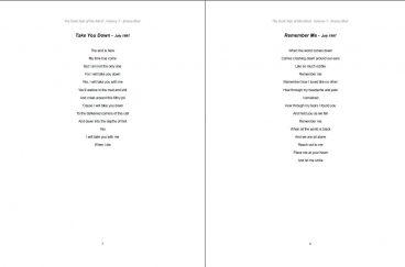The Dark Side of My Mind – Volume 7 By Briana Blair – Poetry