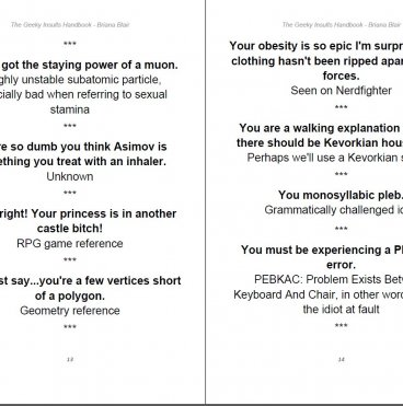 The Geeky Insults Handbook - 101 Geeky and Nerdy Insults