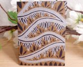 ACEO #5 Metal Jungle Copada Zen Tangle Art Card by Briana Blair