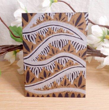 ACEO #5 Metal Jungle Copada Zen Tangle Art Card by Briana Blair
