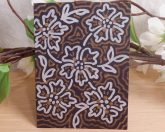 ACEO #8 Floral Aura Blooming Butter Zen Tangle Art Card by Briana Blair