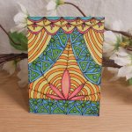 ACEO Reveal the Lotus Zen Tangle Art Card by Briana Blair