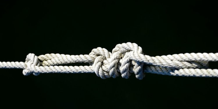 Knot tie rope cord binding - Image: Public Domain, Pixabay