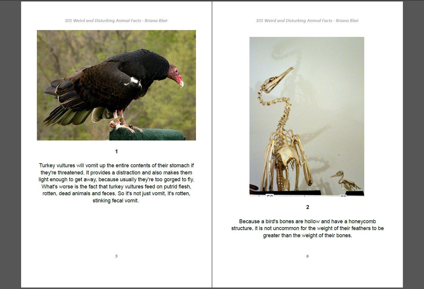 101 Weird and Disturbing Animal Facts by Briana Blair - Nature Ebook 2