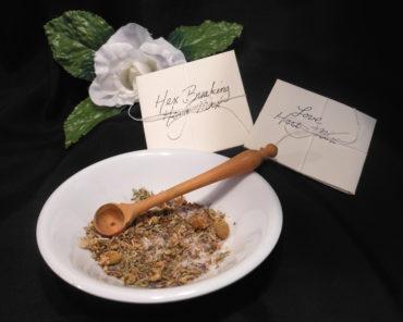 Herbal Spell Salt Mix Packets for Rituals, Spells, Poppets
