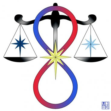 All Gods Universal Power Symbol by Briana Blair