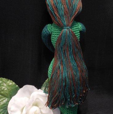 Amigurumi Crocheted Earth Goddess Doll 3