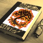 Burning Tree of Woe beading cross stitch pattern