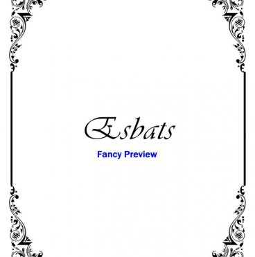Fancy Printable Book of Shadows BOS Divider Pages and Stationery