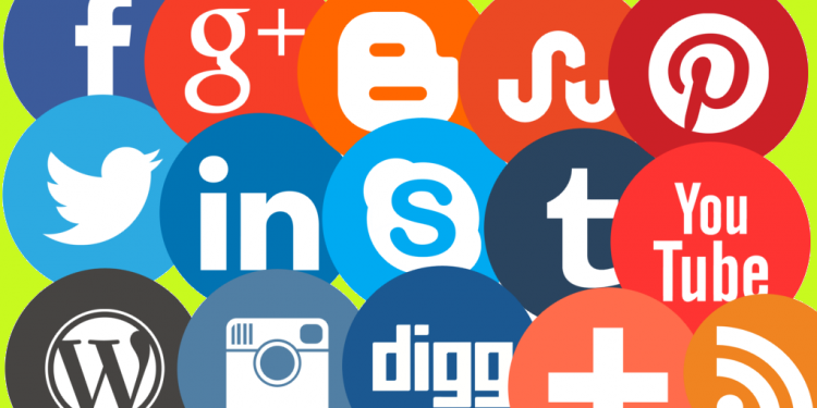 Social Network Share Buttons Icons
