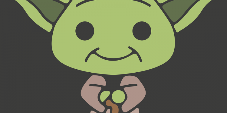 Yoda Alien Cartoon Character