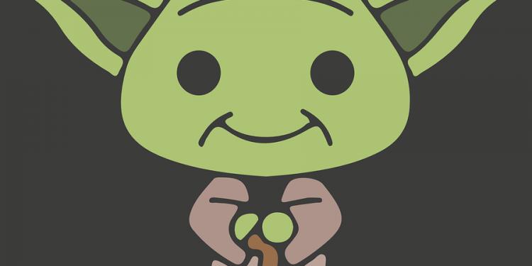 Yoda Alien Cartoon Character
