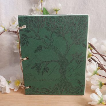 Green Tree of Life Hand Bound Journal BOS