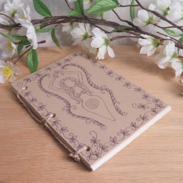 Tan Goddess Hand Bound Journal BOS 2