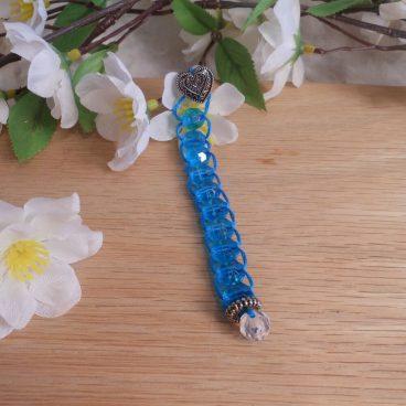 Blue Ten Bead Blessing Prayer Counter
