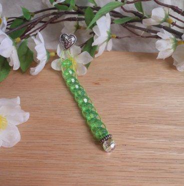 Green Ten Bead Blessing Prayer Counter