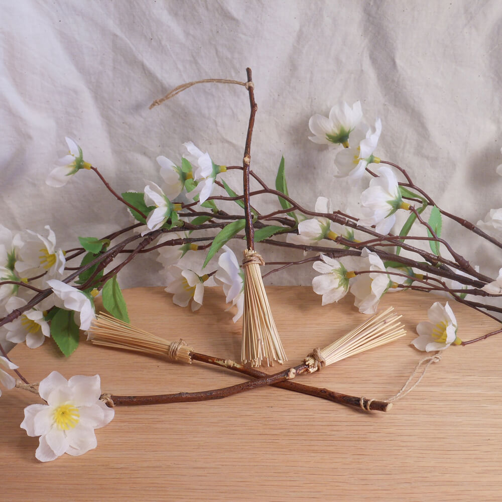 Miniature Mesquite Besom Ritual Broom