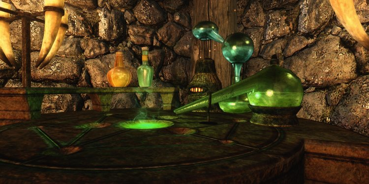 Skyrim alchemy complete cooking and alchemy overhaul