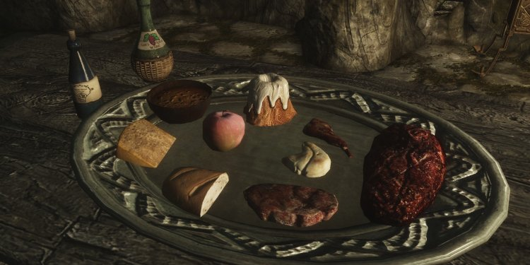 Skyrim food complete cooking and alchemy overhaul