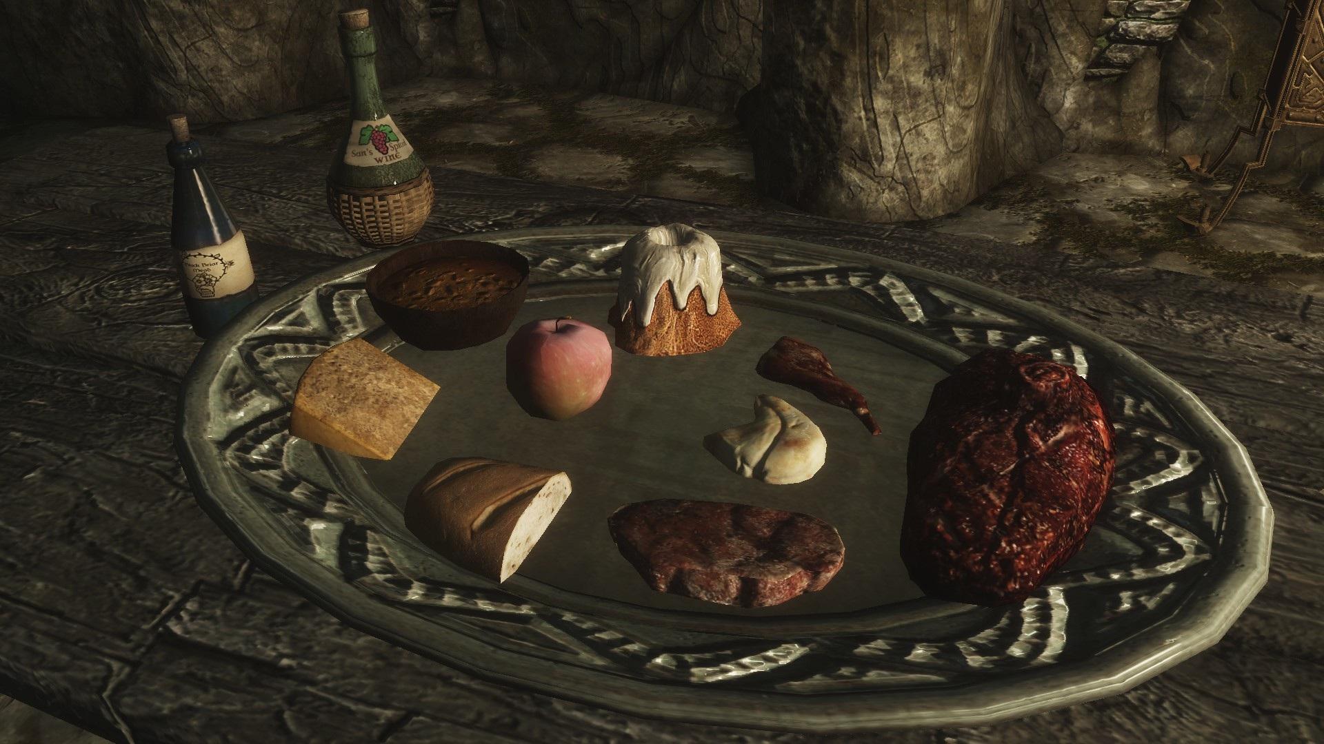 Skyrim Recipes Food