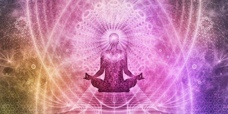 meditate spirit religion person