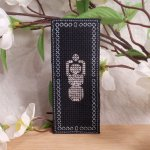 Black and White Goddess Gaia Bookmark