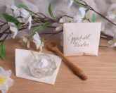 white eggshell powder cascarilla herb pagan wiccan spell magic