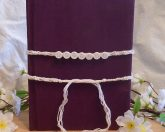 Book Closure Band White for Book of Shadows Protection - Sacred Text