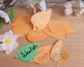 Wishing Leaves Orange Elements for Spells Rituals